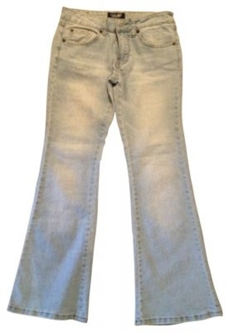 Angels Flare Leg Jeans-Light Wash