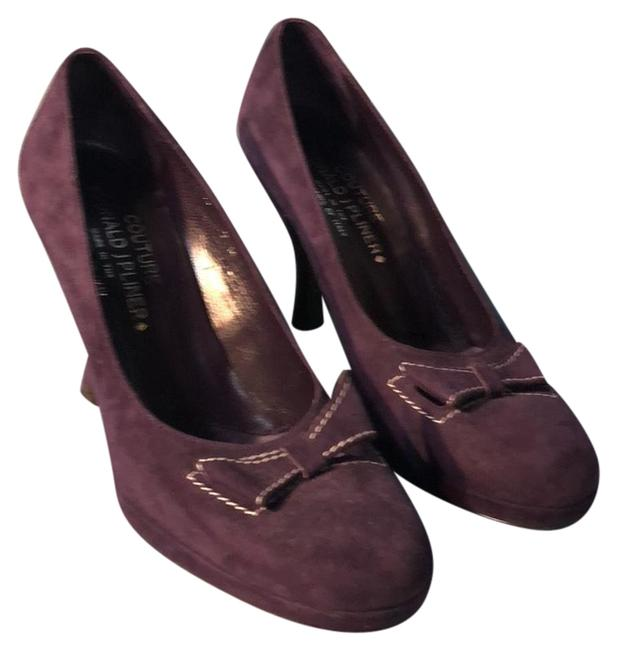 Item - Purple Couture Casis Suede Pumps Size US 7 Regular (M, B)