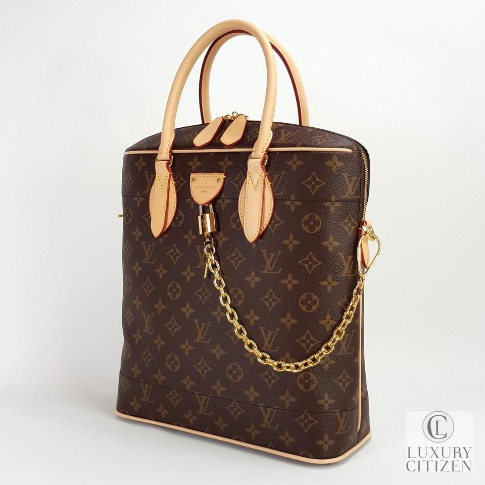 675a11a46c29 Louis Vuitton Carry All Mm Monogram Handbag M43623 Brown Canvas   Leather  Tote - Tradesy
