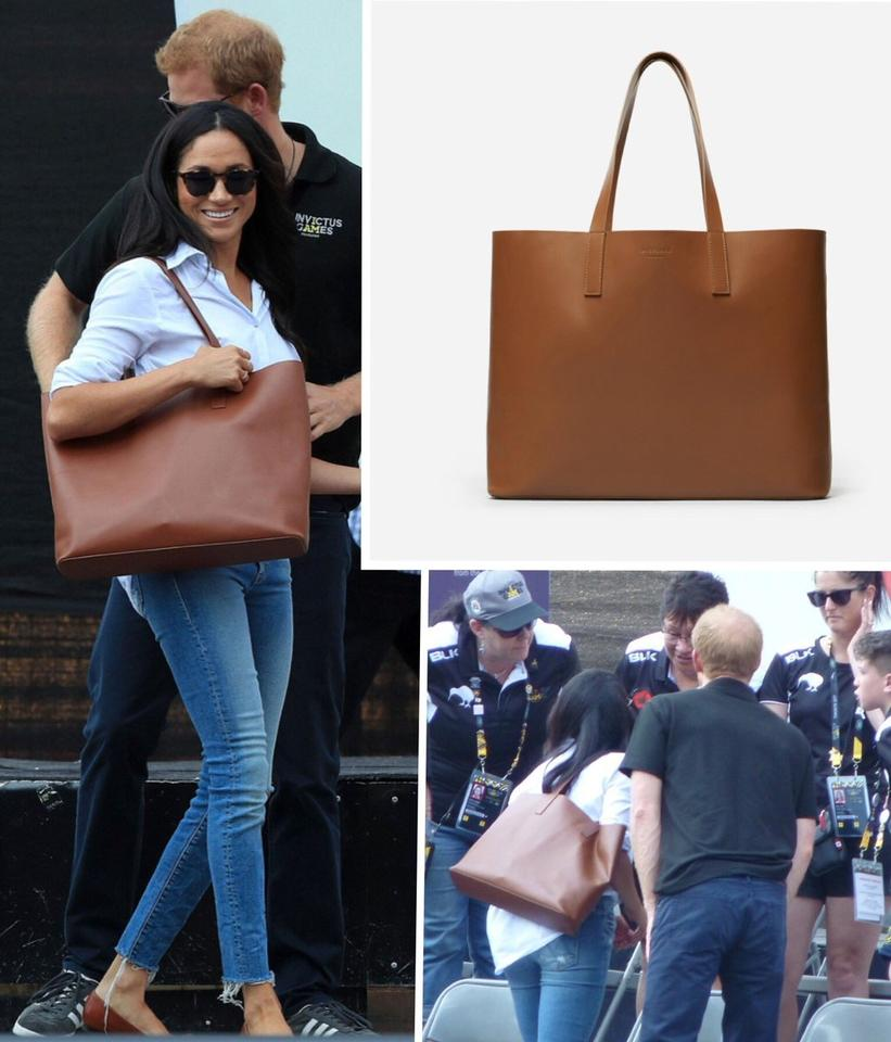 f011c8a7d44c Everlane The Day Market Markle Cognac Leather Tote - Tradesy