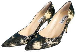 Jimmy Choo Marble Romy 100 Heel Sz. 40 Black Pumps