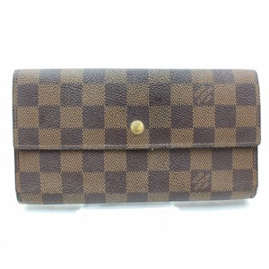 Louis Vuitton Louis Vuitton Brown Damier International Wallet