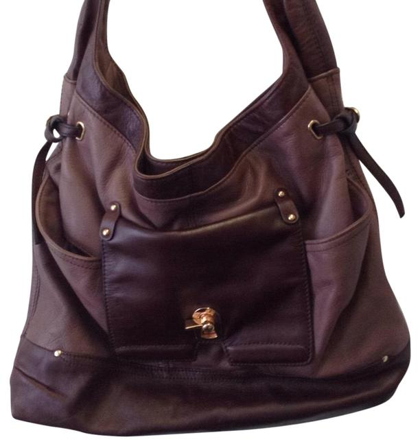 Item - Fine Purple and Lilac Leather Hobo Bag