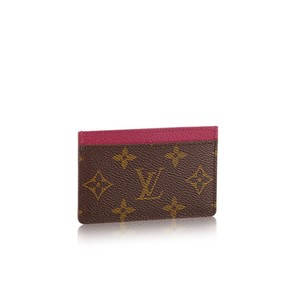 Louis vuitton business card holders up to 70 off at tradesy louis vuitton monogram fuchsia card id holder colourmoves Images