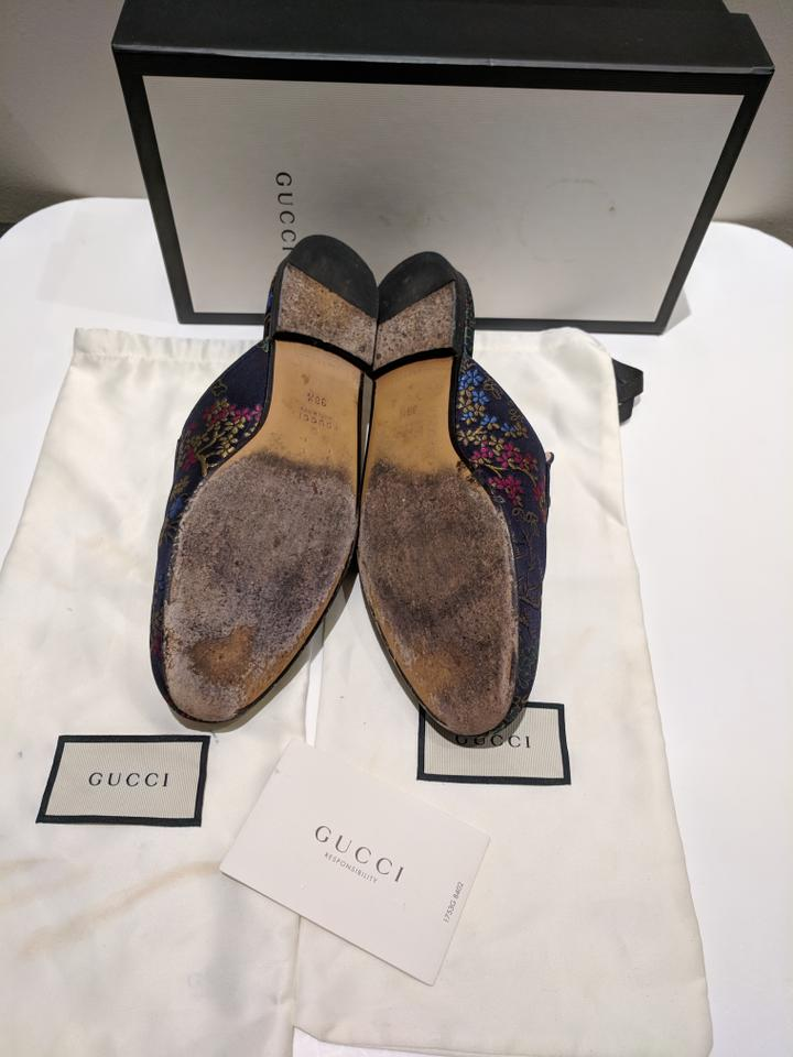 20d6ef9dc25 Gucci Multicolor Princetown Disney Donald Duck Slipper Loafers Mules ...