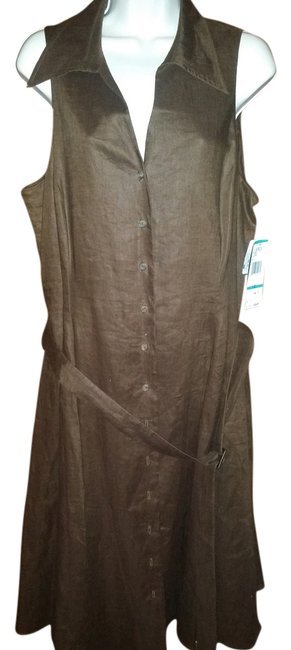 Preload https://item4.tradesy.com/images/jones-new-york-dk-mocha-mozambique-knee-length-workoffice-dress-size-16-xl-plus-0x-2319233-0-0.jpg?width=400&height=650