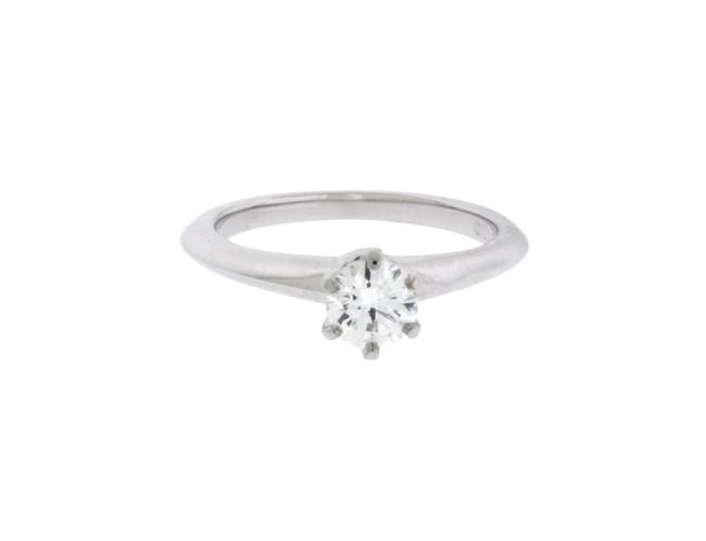 Item - Platinum .39 Carat Xxx Vs2-h Solitaire Size Engagement Ring
