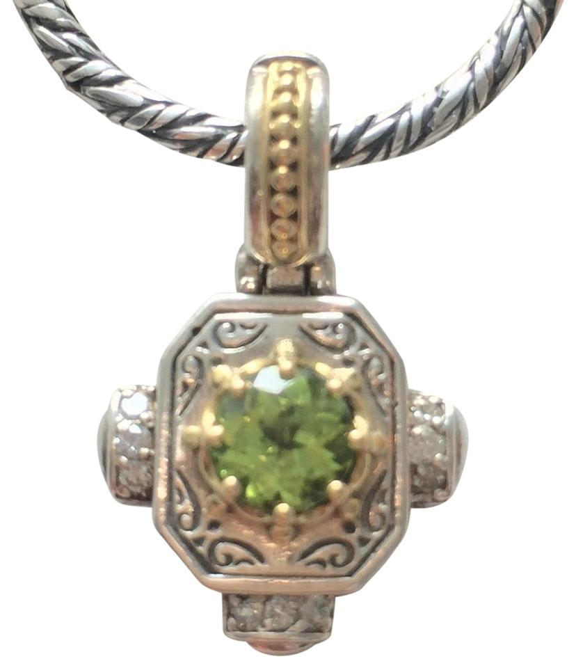 knotted clasp with gold img peridot filled necklace trigger collections
