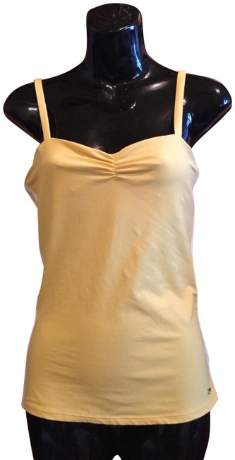 Item - Yellow Athletic Tank Top/Cami Size 8 (M)