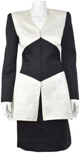 Mary McFadden Couture 2-Pc Channel Quilted Silk