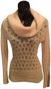 Ann Taylor LOFT Winter Sequence Embroidered Embellished Sweater