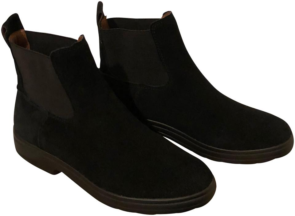 Lucky Brand Black Lk Suede Gabbee Oiled Suede Lk Boots/Booties d68370