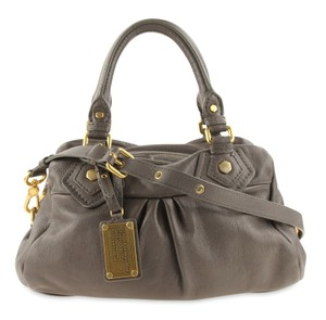 ab91b0fb7ee0 Marc by Marc Jacobs Baby Classic Q Groovee Grey Leather Satchel ...