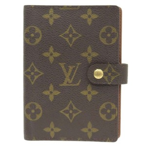 Louis Vuitton Authentic Louis Vuitton agenda monogram small PM ring cover