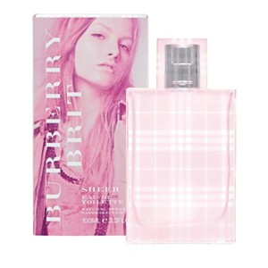 Burberry Burberry Brit Sheer 3.4 oz/100 ML EDT Spray for Woman ,New/Sealed.