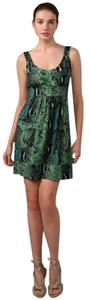 Diane von Furstenberg short dress Green Dvf Ferdon Snake Python on Tradesy