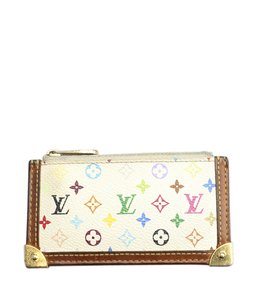 Louis Vuitton Louis Vuitton M92655 Pochette Clef Multicolore Coin Case (147247)