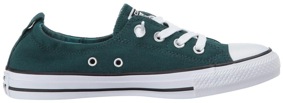 25351aee0010 Converse Teal Women s Chuck Taylor All Star Shoreline Slip On Fashion Sneakers  Sneakers. Size  US ...