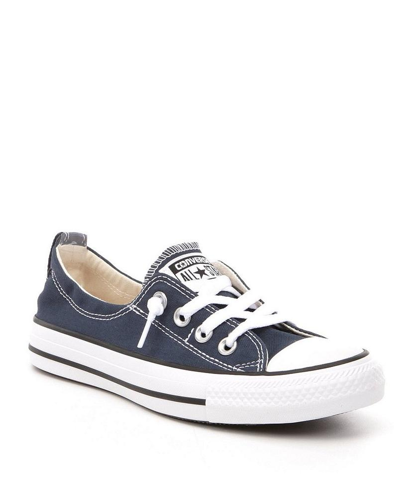 Converse Navy Women s Chuck Taylor All Star Shoreline Slip On Fashion  Sneakers Sneakers 563c85425