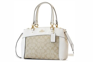 Coach Carryall 34797 36704 Christie Satchel in white