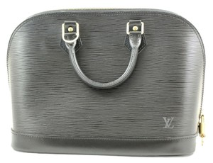 Louis Vuitton Epi Alma Tote in Black