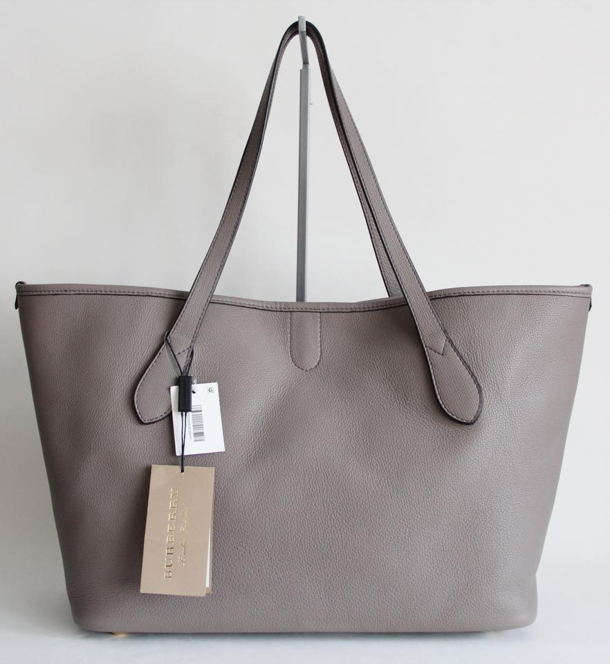 Burberry Leather Honeybrook Derby Tote in Thistle Grey. 123456789101112 64e0b0d3abb9b