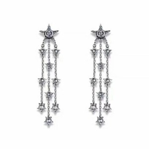 Dior Dior Star Crystal Earrings