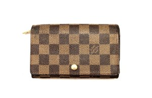 Louis Vuitton Damier Ebene Porte Billets Tresor Bifold Wallet