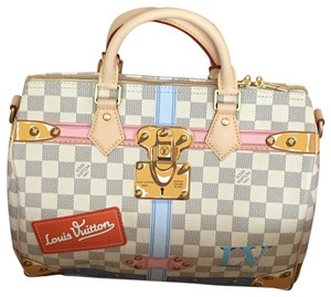 Louis Vuitton Summer Trunk Speedy Bandouliere Hobo Bag