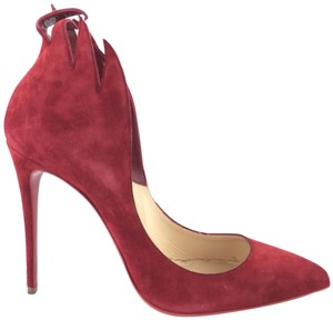 Christian Louboutin Victorina Flame Heels Red Pumps
