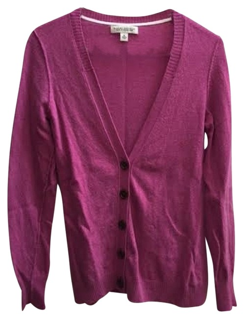 Preload https://item1.tradesy.com/images/banana-republic-pink-cardigan-size-8-m-2319650-0-0.jpg?width=400&height=650