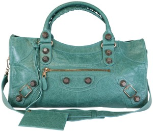 Balenciaga Green Part Time Part Time Tote in Ver Sauge