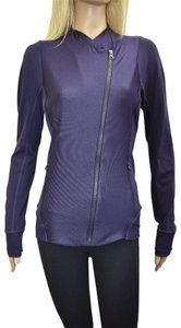 Lululemon LULULEMON Women's Dark Purple Zip Up Athletic Casual Jacket Size 10