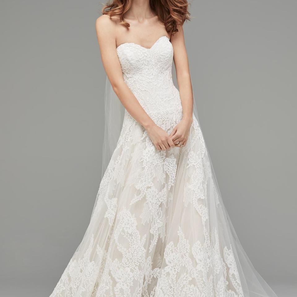 Watters & Watters Bridal Ivory Lace / Nude Lining Lyric Traditional ...