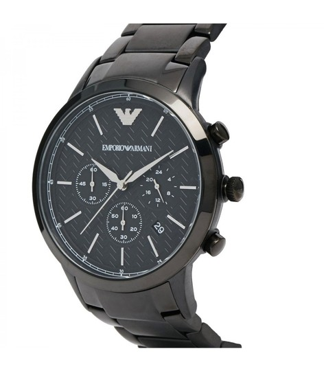 Emporio Armani BRAND NEW EMPORIO ARMANI Black Men's Watch AR2485