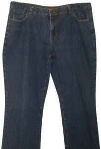 Hillard & Hanson Straight Leg Jeans-Medium Wash