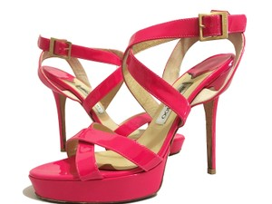 Jimmy Choo Pink Platforms