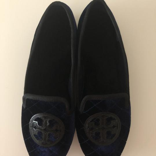 Tory Burch Navy Blue Flats Image 10