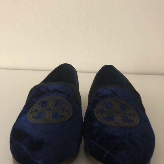 Tory Burch Navy Blue Flats Image 11