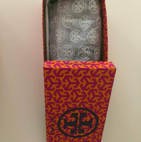 Tory Burch Navy Blue Flats Image 4