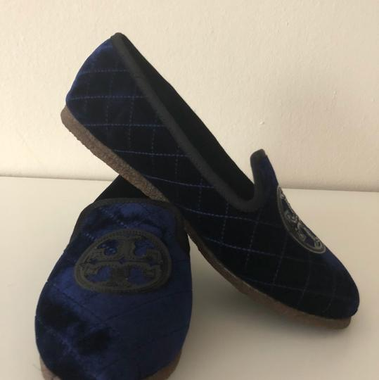 Tory Burch Navy Blue Flats Image 9