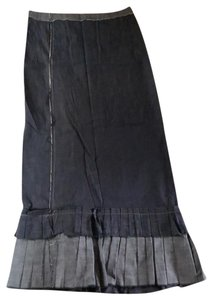 DKNY Maxi Skirt denim