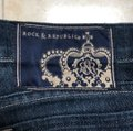 Rock & Republic Boot Cut Jeans-Dark Rinse Image 7