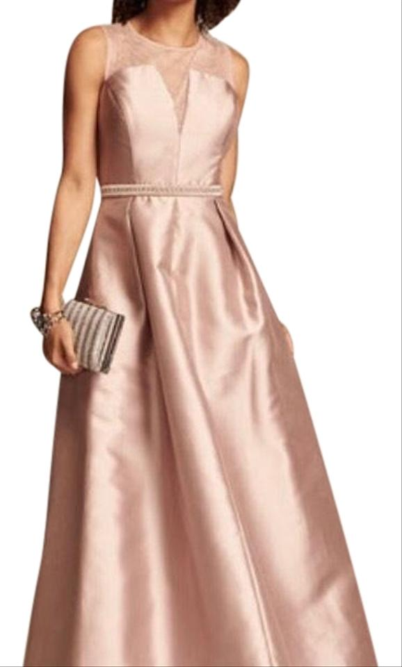 4d903ef82a945 Nicole Miller Blush Nm61142 Long Formal Dress Size 4 (S) - Tradesy