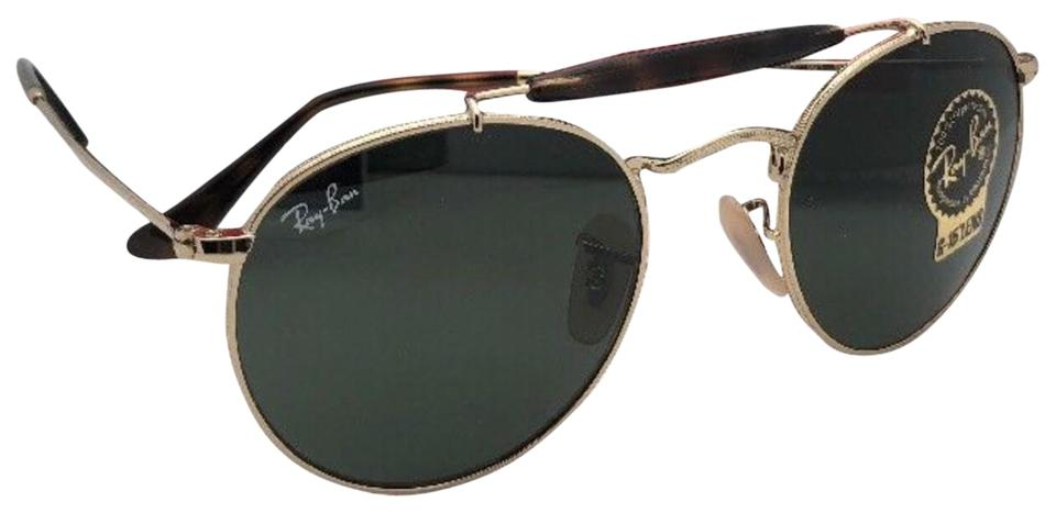 57e7295b43 Ray-Ban New Rb 3747 001 50-21 145 Arista Gold Frame W  G15 Green ...