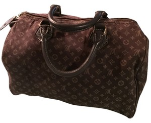 Louis Vuitton Satchel in Mini Ebene Speedy 30