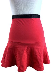 Boutique Mini Skirt red