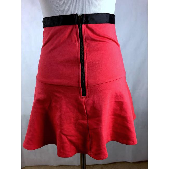 Boutique Mini Skirt red Image 1