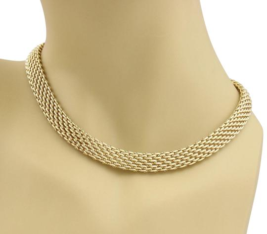 Preload https://img-static.tradesy.com/item/23198352/tiffany-and-co-55758-18k-yellow-gold-10mm-wide-mesh-design-collar-necklace-0-1-540-540.jpg
