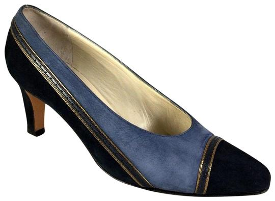 Preload https://img-static.tradesy.com/item/23198422/bally-blue-vintage-classic-two-tone-suede-cap-toe-slip-on-e-pumps-size-us-5-extra-wide-ww-ee-0-1-540-540.jpg